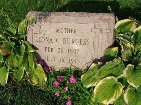 BURGESS, LEONA C. - Fairfield County, Ohio | LEONA C. BURGESS - Ohio Gravestone Photos