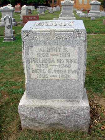 BURK, ALBERT S. - Fairfield County, Ohio | ALBERT S. BURK - Ohio Gravestone Photos