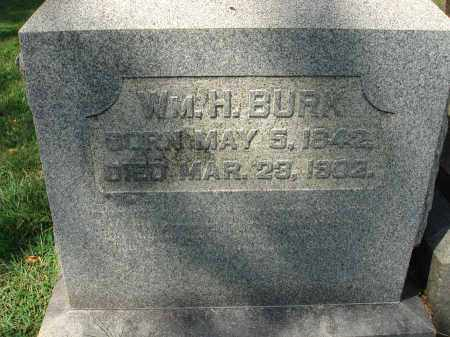 BURK, WM. H. - Fairfield County, Ohio | WM. H. BURK - Ohio Gravestone Photos
