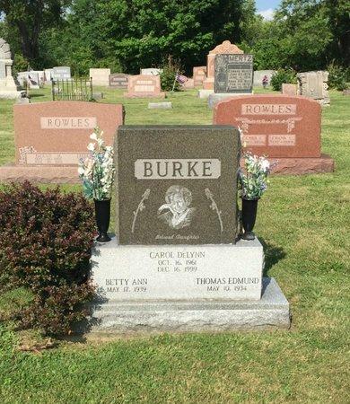 BURKE, THOMAS EDMUND - Fairfield County, Ohio   THOMAS EDMUND BURKE - Ohio Gravestone Photos