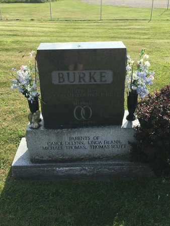 BURKE, MICHAEL THOMAS - Fairfield County, Ohio | MICHAEL THOMAS BURKE - Ohio Gravestone Photos