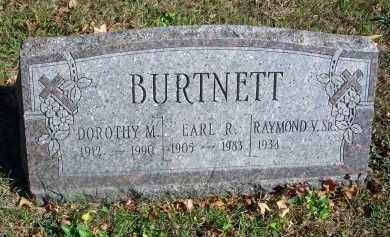 BURTNETT, EARL R. - Fairfield County, Ohio | EARL R. BURTNETT - Ohio Gravestone Photos