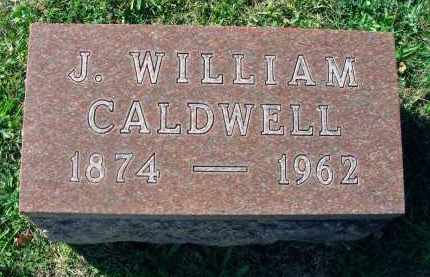CALDWELL, J. WILLIAM - Fairfield County, Ohio | J. WILLIAM CALDWELL - Ohio Gravestone Photos