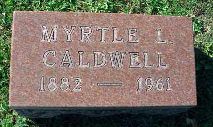 CALDWELL, MYRTLE L. - Fairfield County, Ohio | MYRTLE L. CALDWELL - Ohio Gravestone Photos