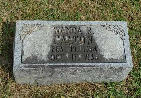 CALTON, WANDA R. - Fairfield County, Ohio | WANDA R. CALTON - Ohio Gravestone Photos