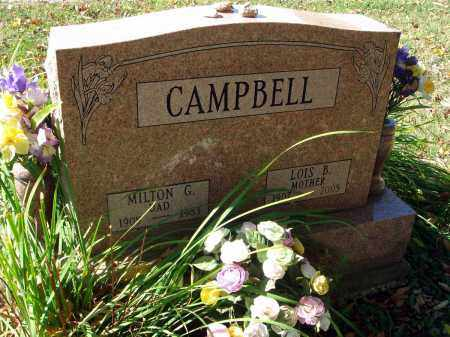 CAMPBELL, LOIS B. - Fairfield County, Ohio | LOIS B. CAMPBELL - Ohio Gravestone Photos