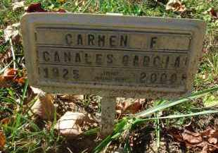 CANALES-GARCIA, CARMEN F. - Fairfield County, Ohio | CARMEN F. CANALES-GARCIA - Ohio Gravestone Photos