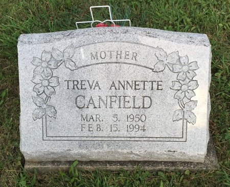 CANFIELD, TREVA ANNETTE - Fairfield County, Ohio | TREVA ANNETTE CANFIELD - Ohio Gravestone Photos