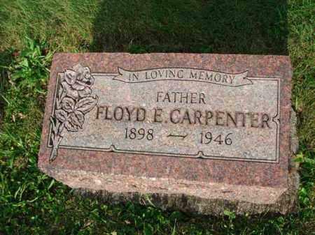 CARPENTER, FLOYD E. - Fairfield County, Ohio | FLOYD E. CARPENTER - Ohio Gravestone Photos