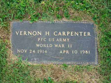 CARPENTER, VERNON H. - Fairfield County, Ohio | VERNON H. CARPENTER - Ohio Gravestone Photos