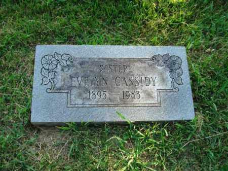 CASSIDY, EVELYN - Fairfield County, Ohio | EVELYN CASSIDY - Ohio Gravestone Photos