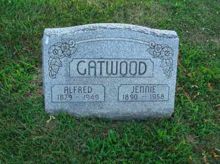 CATWOOD, JENNIE - Fairfield County, Ohio | JENNIE CATWOOD - Ohio Gravestone Photos