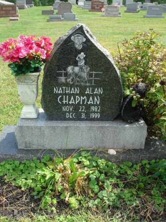 CHAPMAN, NATHAN ALAN - Fairfield County, Ohio | NATHAN ALAN CHAPMAN - Ohio Gravestone Photos