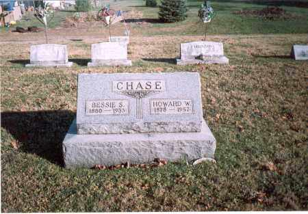 CHASE, HOWARD W. - Fairfield County, Ohio | HOWARD W. CHASE - Ohio Gravestone Photos