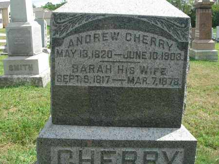 CHERRY, SARAH - Fairfield County, Ohio | SARAH CHERRY - Ohio Gravestone Photos