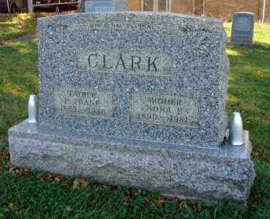 CLARK, B. FRANK - Fairfield County, Ohio | B. FRANK CLARK - Ohio Gravestone Photos