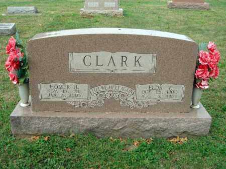 CLARK, ELDA V. - Fairfield County, Ohio | ELDA V. CLARK - Ohio Gravestone Photos