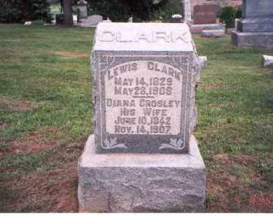 CROSLEY CLARK, DIANA - Fairfield County, Ohio | DIANA CROSLEY CLARK - Ohio Gravestone Photos