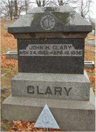 CLARY, JOHN H. - Fairfield County, Ohio | JOHN H. CLARY - Ohio Gravestone Photos
