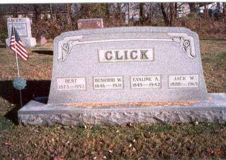 CLICK, BUSHROD W. - Fairfield County, Ohio | BUSHROD W. CLICK - Ohio Gravestone Photos