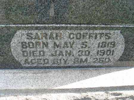 COFFITS, SARAH - Fairfield County, Ohio | SARAH COFFITS - Ohio Gravestone Photos