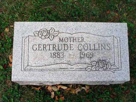 COLLINS, GERTRUDE - Fairfield County, Ohio | GERTRUDE COLLINS - Ohio Gravestone Photos