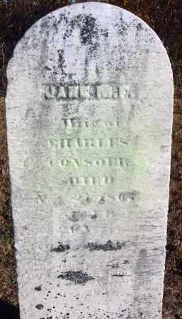CON--?, JANE M. F. - Fairfield County, Ohio   JANE M. F. CON--? - Ohio Gravestone Photos