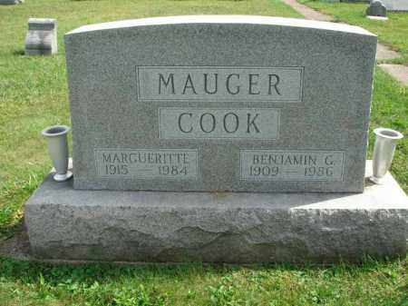 COOK, MARGUERITTE - Fairfield County, Ohio | MARGUERITTE COOK - Ohio Gravestone Photos