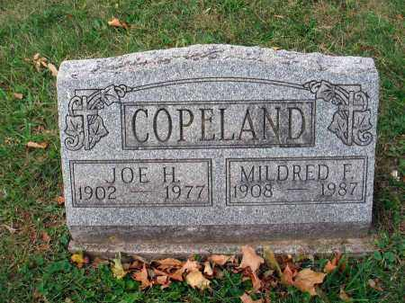 COPELAND, MILDRED F. - Fairfield County, Ohio | MILDRED F. COPELAND - Ohio Gravestone Photos