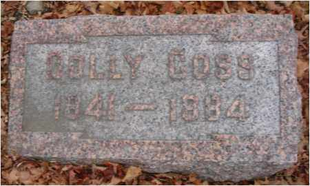 COSS, DOLLY - Fairfield County, Ohio | DOLLY COSS - Ohio Gravestone Photos