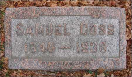 COSS, SAMUEL - Fairfield County, Ohio | SAMUEL COSS - Ohio Gravestone Photos