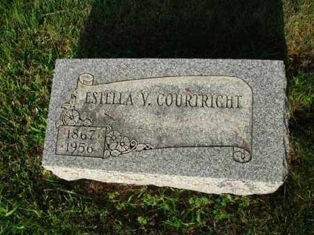 COURTRIGHT, ESTELLA V. - Fairfield County, Ohio | ESTELLA V. COURTRIGHT - Ohio Gravestone Photos