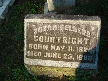 FELLERS COURTRIGHT, SUSAN - Fairfield County, Ohio | SUSAN FELLERS COURTRIGHT - Ohio Gravestone Photos