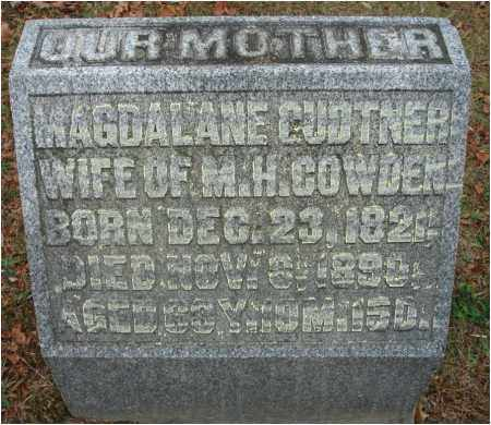 COWDEN, MAGDALANE - Fairfield County, Ohio | MAGDALANE COWDEN - Ohio Gravestone Photos