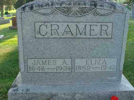 CRAMER, ELIZA - Fairfield County, Ohio | ELIZA CRAMER - Ohio Gravestone Photos