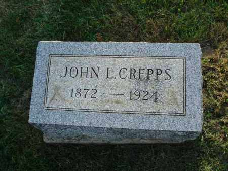 CREPPS, JOHN L. - Fairfield County, Ohio | JOHN L. CREPPS - Ohio Gravestone Photos