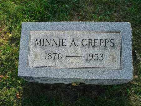 CREPPS, MINNIE A. - Fairfield County, Ohio | MINNIE A. CREPPS - Ohio Gravestone Photos