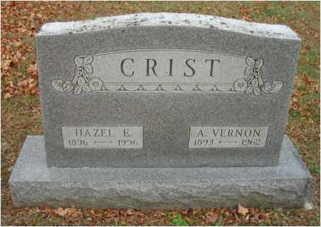 CRIST, HAZEL E. - Fairfield County, Ohio | HAZEL E. CRIST - Ohio Gravestone Photos