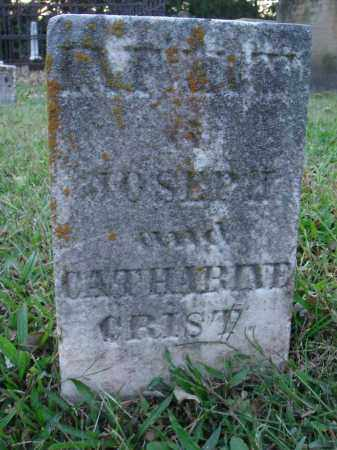 CRIST, INFANT - Fairfield County, Ohio | INFANT CRIST - Ohio Gravestone Photos