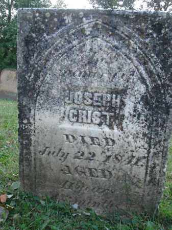 CRIST, JOSEPH - Fairfield County, Ohio | JOSEPH CRIST - Ohio Gravestone Photos