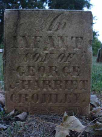CROMLEY, INFANT SON - Fairfield County, Ohio | INFANT SON CROMLEY - Ohio Gravestone Photos