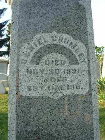 CRUMLEY, DANIEL - Fairfield County, Ohio | DANIEL CRUMLEY - Ohio Gravestone Photos
