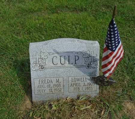 CULP, FREDA M. - Fairfield County, Ohio | FREDA M. CULP - Ohio Gravestone Photos