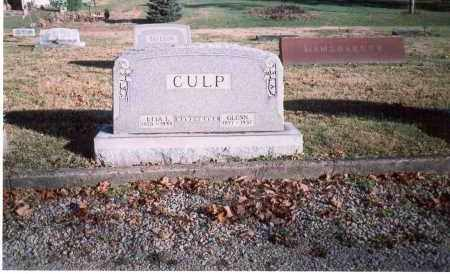 CULP, GLENN - Fairfield County, Ohio | GLENN CULP - Ohio Gravestone Photos