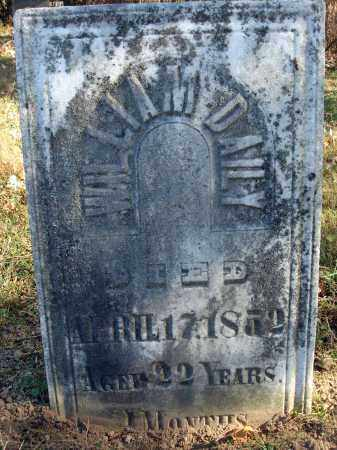 DAILY, WILLIAM - Fairfield County, Ohio | WILLIAM DAILY - Ohio Gravestone Photos