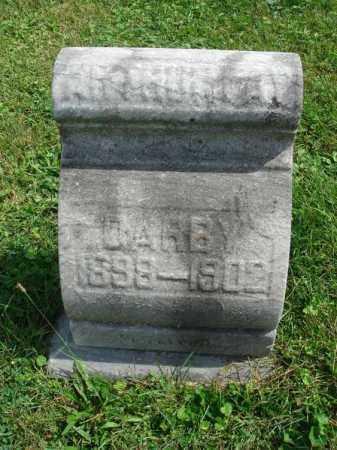DARBY, ARTHUR RAY - Fairfield County, Ohio | ARTHUR RAY DARBY - Ohio Gravestone Photos