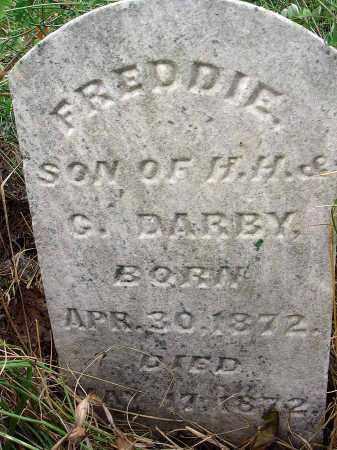 DARBY, FREDDIE - Fairfield County, Ohio   FREDDIE DARBY - Ohio Gravestone Photos