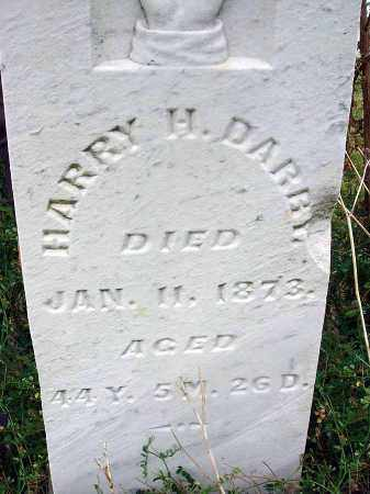 DARBY, HARRY H. - Fairfield County, Ohio | HARRY H. DARBY - Ohio Gravestone Photos