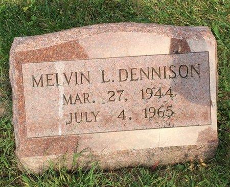 DENNISON, MELVIN L. - Fairfield County, Ohio | MELVIN L. DENNISON - Ohio Gravestone Photos