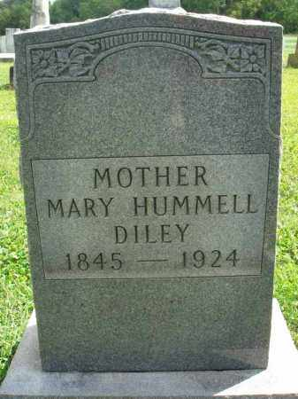 HUMMELL DILEY, MARY - Fairfield County, Ohio | MARY HUMMELL DILEY - Ohio Gravestone Photos